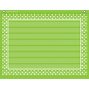 Teacher Created Resources TCR20777 Lime Polka Dots 10 Pocket 17X22