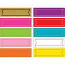 Teacher Created Resources TCR20869 Colorful Gold Shimmer Labels