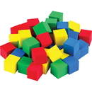 Teacher Created Resources TCR20938 Multicolor 3/4In Foam Cubes 40 Ct Stem Basics