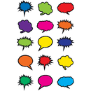 Teacher Created Resources TCR2144 Colorful Speech Thought Bubbles
