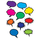 Teacher Created Resources TCR2145 Colorful Speech Thought Bubbles