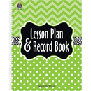 Teacher Created Resources TCR2384 Lime Chevrons And Dots Lesson Plan - Record Book