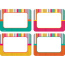 Teacher Created Resources TCR2684 Tropical Punch Name Tags Labels