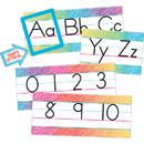Teacher Created Resources TCR3052 Colorful Scribble Alphabet Line Bbs
