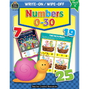 Teacher Created Resources TCR3296 Write-On/Wipe-Off Numbers 0?30