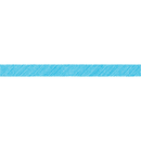 Teacher Created Resources TCR3414 Aqua Scribble Straight Border Trim