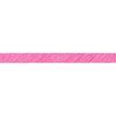 Teacher Created Resources TCR3416 Hot Pink Scribble Straight Border