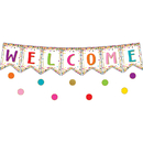 Teacher Created Resources TCR3608 Confetti Pennants Welcome Bbs