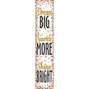 Teacher Created Resources TCR3915 Confetti Dream Big Banner
