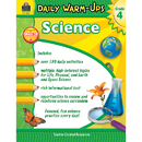Teacher Created Resources TCR3969 Daily Warm Ups Science Gr 4
