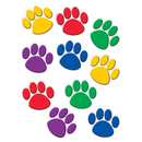 Teacher Created Resources TCR4114 Accents Colorful Paw Prints