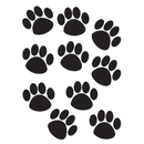 Teacher Created Resources TCR4277 Accents Black Paw Prints