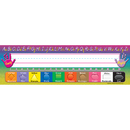 Teacher Created Resources TCR4307 Modern Printing 36Pk Flat Name Plates 3-1/2 X 11-1/2