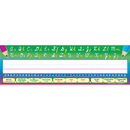 Teacher Created Resources TCR4308 Cursive Writing 36Pk Flat Name Plates 3-1/2 X 11-1/2
