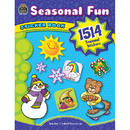Teacher Created Resources TCR4435 Seasonal Fun Sticker Book