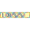 Teacher Created Resources TCR4582 Rainbow Calendar Day Mini Packs
