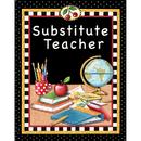 Teacher Created Resources TCR4834 Substitute Teacher Pocket Folder Tc