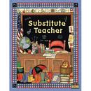 Teacher Created Resources TCR4836 Sw Substitute Teacher Pocket Folder