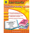 Teacher Created Resources TCR5033 Daily Warm Ups Gr 3 Nonfiction - Reading