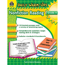Teacher Created Resources TCR5034 Daily Warm Ups Gr 4 Nonfiction - Reading
