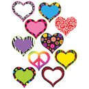 Teacher Created Resources TCR5100 Hearts Accents