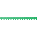 Teacher Created Resources TCR5498 Green Mini Polka Dots Scalloped
