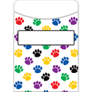 Teacher Created Resources TCR5550 Paw Prints Library Pockets