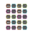 Teacher Created Resources TCR5618 Chalkboard Brights Stickers