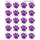 Teacher Created Resources TCR5775 Stickers Purple Paw Prints