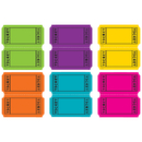 Teacher Created Resources TCR5794 Bright Colors Tickets Mini Accents
