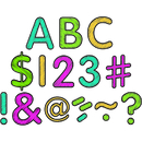 Teacher Created Resources TCR5814 Chalkboard Brights Classic