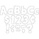 Teacher Created Resources TCR5819 White Funtastic 4 In Letters
