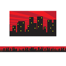 Teacher Created Resources TCR5831 Superhero Cityscape Straight Border Trim