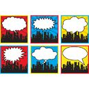 Teacher Created Resources TCR5832 Superhero Cityscape Large Accents