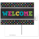 Teacher Created Resources TCR5838 Chalkboard Brights Welcome Postcards