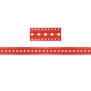 Teacher Created Resources TCR5891 Red Marquee Straight Border Trim