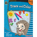 Teacher Created Resources TCR5917 Ready Set Learn Trace And Color Gr Pk-K