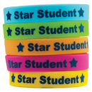 Teacher Created Resources TCR6548 Star Student Wristbands 10/Pk