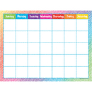 Teacher Created Resources TCR7525 Colorful Scribble Calendar Chart
