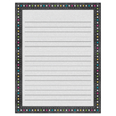 Teacher Created Resources TCR7532 Chalkboard Brights Lined Chart