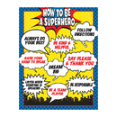 Teacher Created Resources TCR7550 How To Be A Superhero Chart