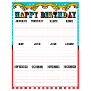 Teacher Created Resources TCR7571 Carnival Happy Birthday Chart
