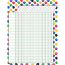 Teacher Created Resources TCR7622 Colorful Paw Prints Incentive Chart 17 X 22
