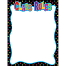 Teacher Created Resources TCR7707 Class Rules Chart 17X22