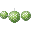 Teacher Created Resources TCR77102 Paper Lanterns Lime Polka Dots