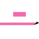 Teacher Created Resources TCR77126 Magnetic Borders Hot Pink Chevron
