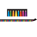 Teacher Created Resources TCR77127 Magnetic Borders Colored Pencils
