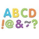 Teacher Created Resources TCR77187 Chevron Classic 2In Magnetic - Letters