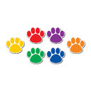 Teacher Created Resources TCR77207 Colorful Paw Prints Magnetic - Accents