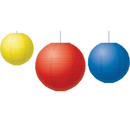 Teacher Created Resources TCR77230 Red Yellow & Blue Paper Lanterns